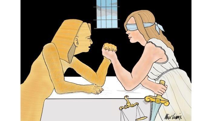 Giustizia per Giulio Regeni e Patrick Zaki . Nicocomix