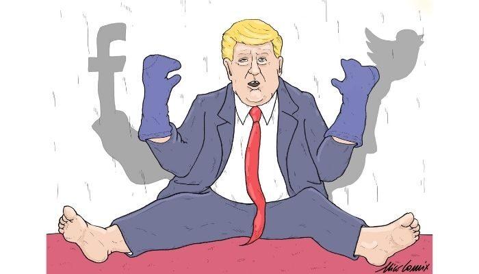 Trump sarebbe giudicato incapace di svolgere le sue mansioni. Scatta censura social. Nicocomix