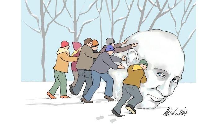 proteste russe . Nicocomix