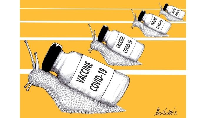 vaccine covid . Ritardi sulle consegne dei vaccini covid 19 . Nicocomix