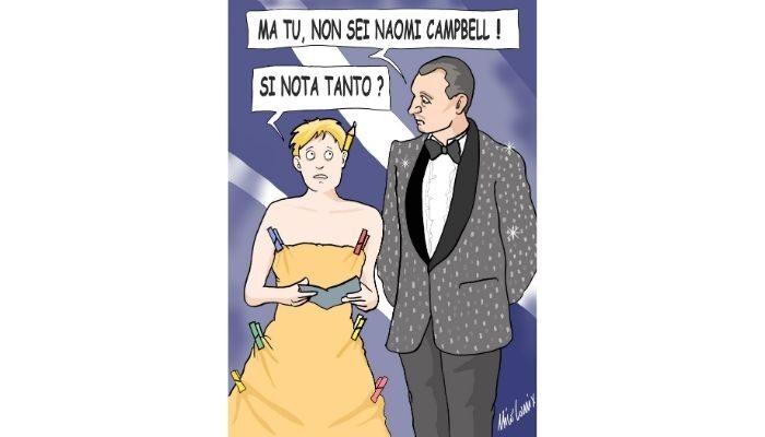 Amadeus, ci vengo io a Sanremo . Nicocomix
