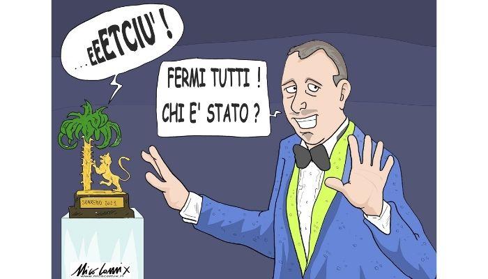 """ETCIU' . Il clima """"sereno"""" del 71° Festival di Sanremo. Nicocomix"""