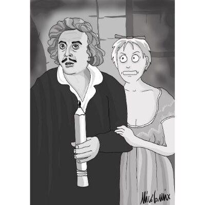 Frankenstein Junior e Nicocomix