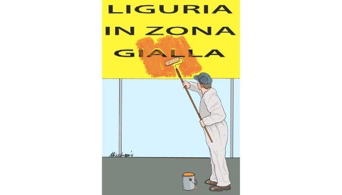Liguria zona Gialla, Arancione, Rossa, quale sarò il prossimo weekend? Nicocomix