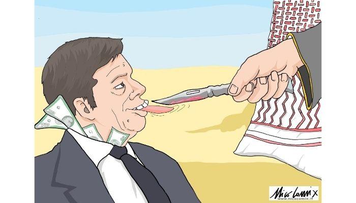 il prezzo . I rapporti tra Renzi e il principe Bin Salman. Nicocomix