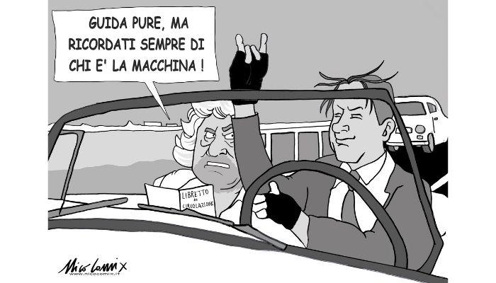 il sorpasso. Giuseppe Conte guiderà il M5S di Beppe Grillo? Nicocomix