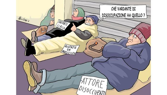 variante disoccupazione . Nicocomix