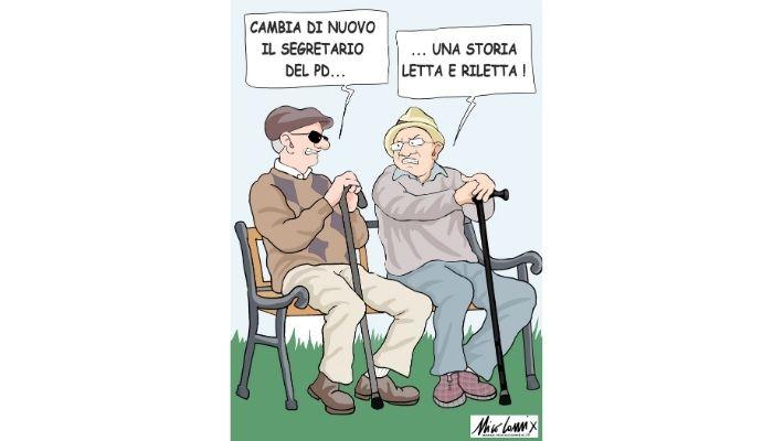 """Letta e riLetta . Enrico Letta è il """"nuovo"""" segretario del PD. Nicocomix"""