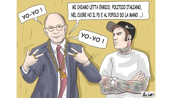 Rap PD. Il concertone del primo maggio e l'intervento di Fedez insegnano il coraggio e di come dovrebbe essere la sinistra italiana. Nicocomix