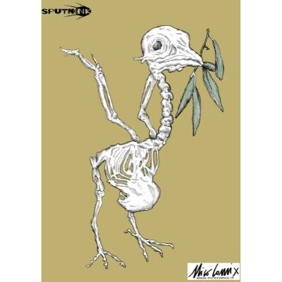 Uccellacci e uccellini. Ciò che resta della colomba, simbolo della pace. Scontri tra Israele e Palestina. Nicocomix