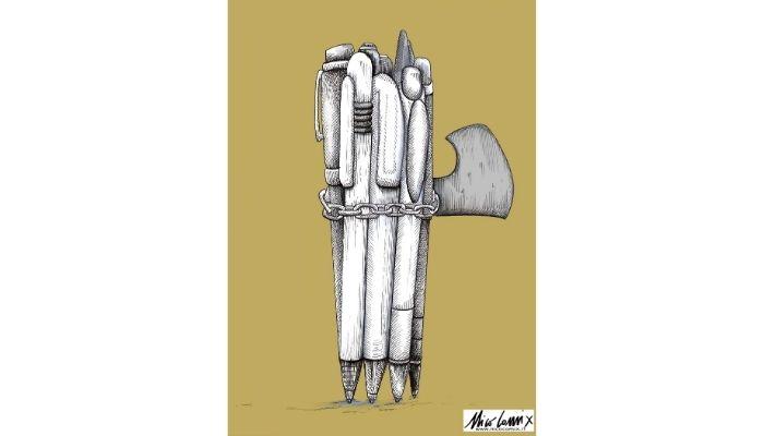 o è libertà di stampa o è dittatura. 3 Maggio, Giornata Mondiale sulla libertà di stampa. Nicocomix
