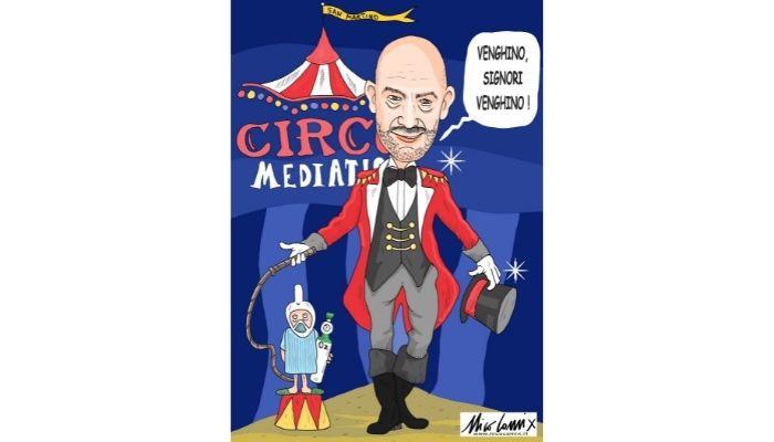 Circo mediatico Bassetti. Nicocomix