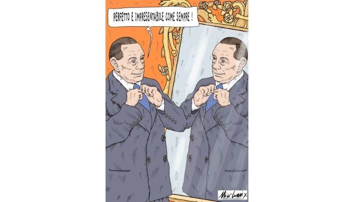 Perfetto e impresentabile come sempre ! Silvio Berlusconi e la sua candidatura a presidente della Repubblica. Nicocomix